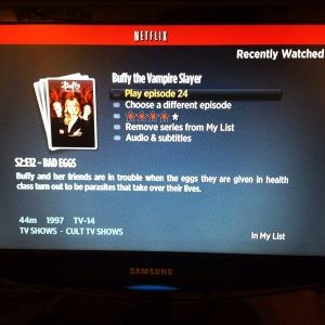 Buffy the Vampire Slayer - Netflix